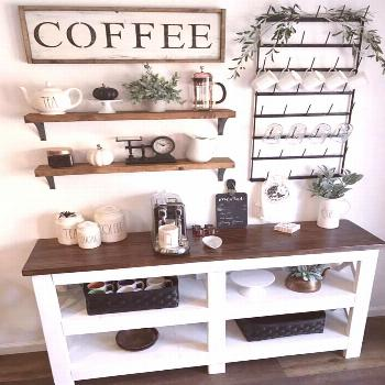 34+ Outstanding DIY Coffee Bar Ideas for Your Cozy Home / Coffee Shop 34+ Outstanding DIY Coffee Ba
