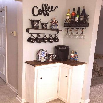 55 best kitchen ideas with coffee bar ideas for all coffee lovers 2  nycrunn