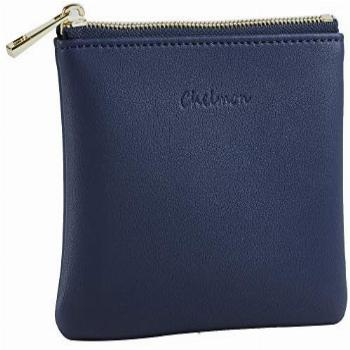 Chelmon Genuine Leather Coin Purse Pouch Change Purse With