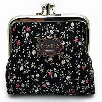 Cute Classic Floral Exquisite Buckle Coin Purse-Patty Both