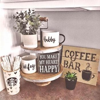 Cute Coffee Station Ideas - Searching for coffee bar ideas? By picking a distinct location to posit