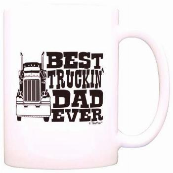 Father's Day Gift Best Truckin' Dad Ever Truck Driver