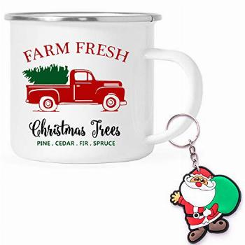 Funny Stainless Steel Enamel Camping Coffee Cup Camp Mug -
