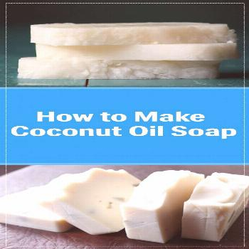 How to Make Coconut Oil Soap We all love coconut oil. This sweet smelling oil is the best product o