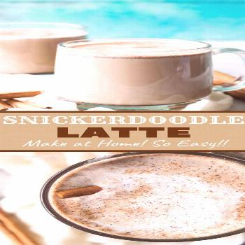 Snickerdoodle Latte - 8 regular nutrition recommendations for weight control 1- Decrease the fat fo
