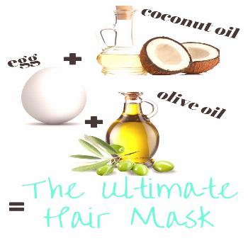 The Ultimate hair mask for super soft, shiny, voluminous, healthy, strong, and LONG hair!    1-2 Eg