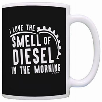 Truck Driver I Love Smell In The Morning Coffee Mug Tea Cup