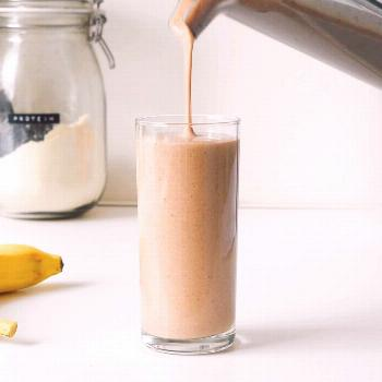 Wake Me Up Coffee Smoothie  This healthy coffee breakfast smoothie recipe is every non-morning pers