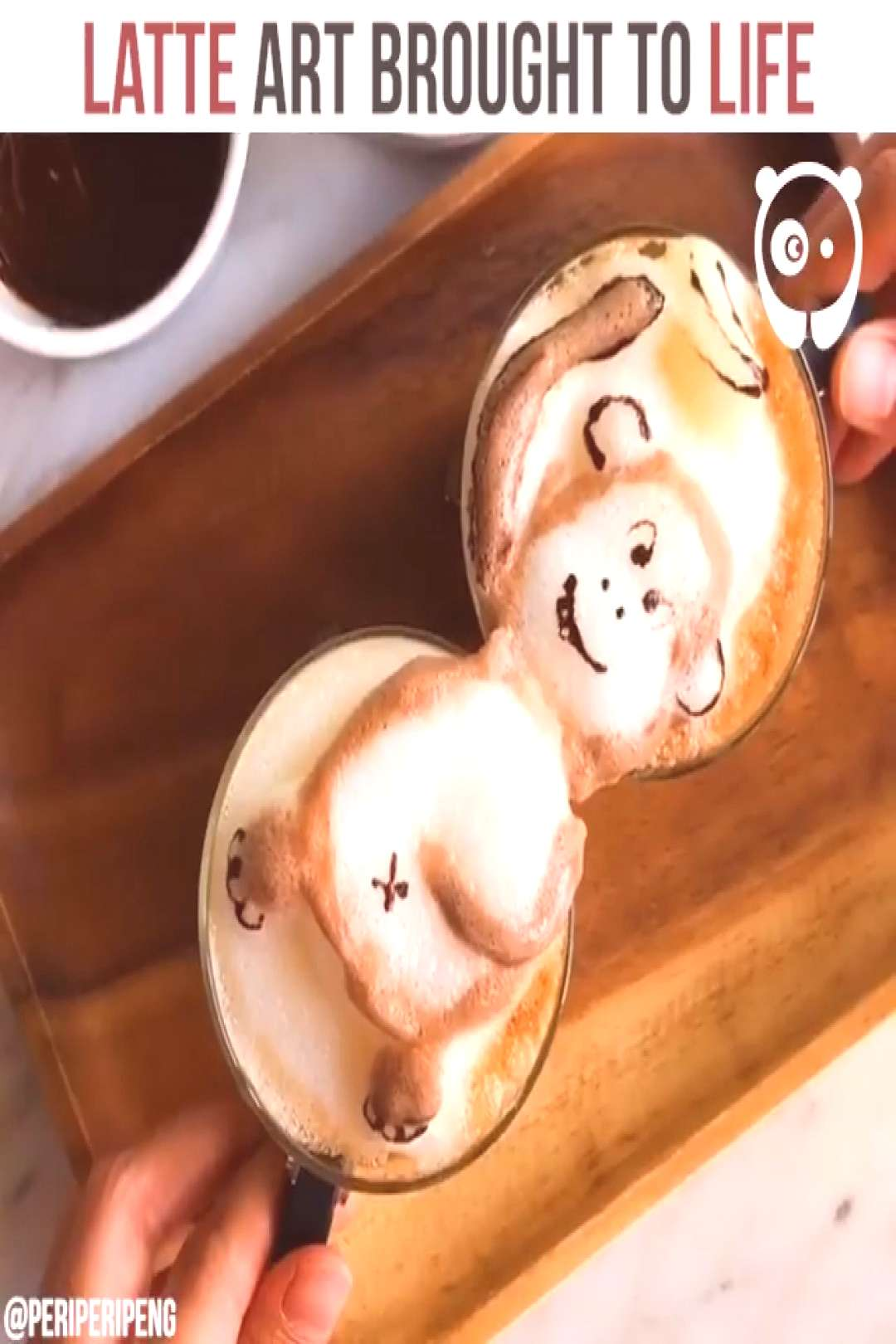 Coffee Artist Creates Impressive 3D Latte Art And It's Too Cute To Drink  Impressive Latte And It