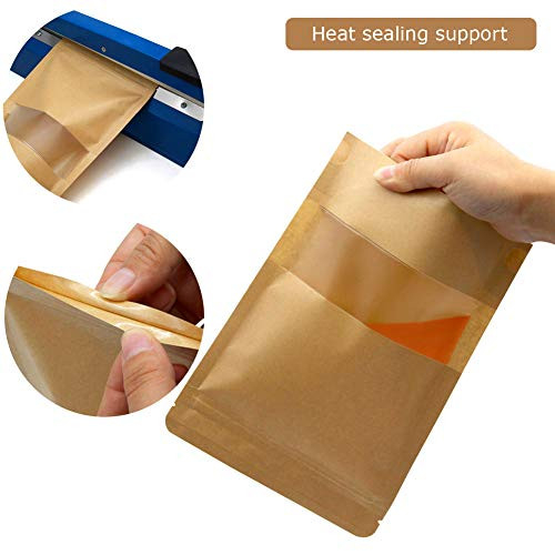 Self Sealing Paper Bags,Kraft Stand up Pouches with